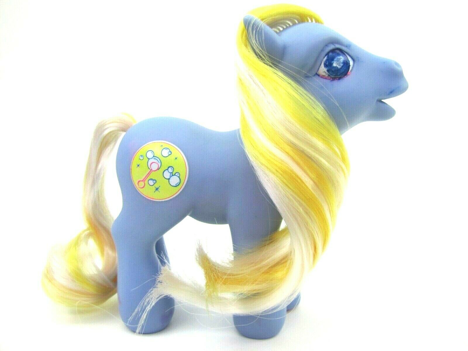 2004 My Little Pony Generation 3 Spring Basket BUBBLECUP Very NICE